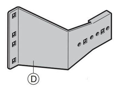 Изображение SPU крепежный уголок N, H, V, VU, Арт. 3043232