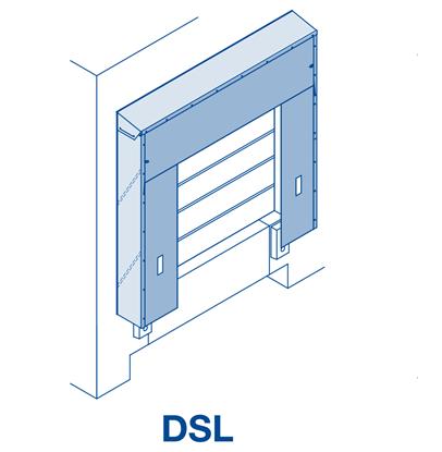 Изображение Тентовый герметизатор ворот DSL 3500х3500