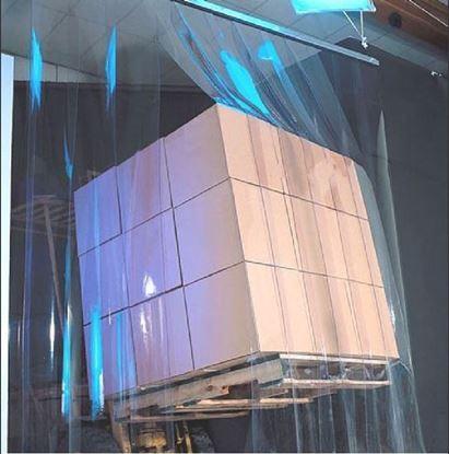 Изображение Экран из ленты ПВХ в проем размером 1500х2000 мм шириной 200 мм от -40* С до +30*С