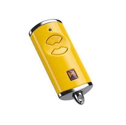 Изображение Пульт дистанционного управления Hormann HSE 2 BS, желтый. Арт. 436881