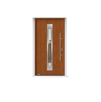 Изображение Входная дверь Thermo 65 мотив 750F, цвет Golden oak, Hormann